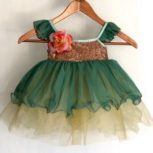 Tutu Cute Dance Leotard Dress Costume